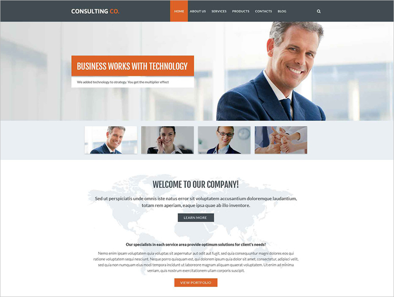Consulting Business Drupal Template