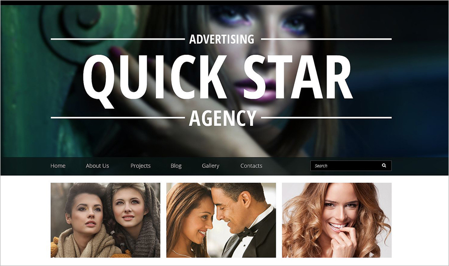 Corporate Advertising Drupal Template