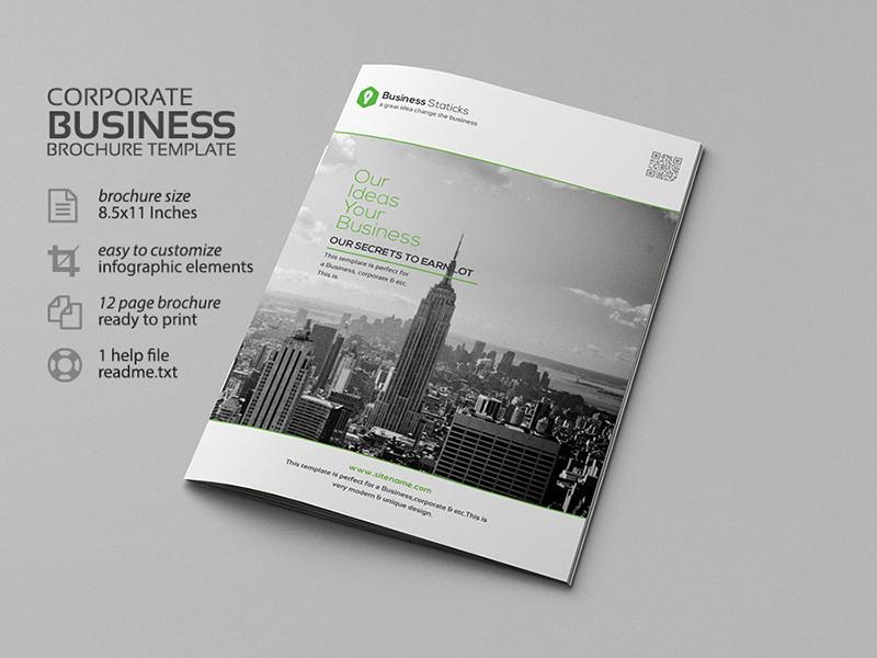 Corporate Business Borchure Template