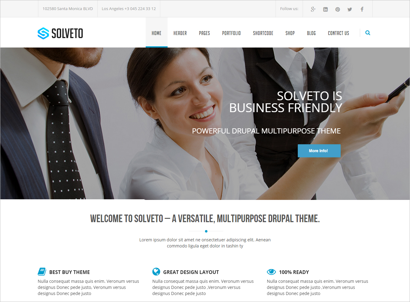 Corporate Business Drupal Theme
