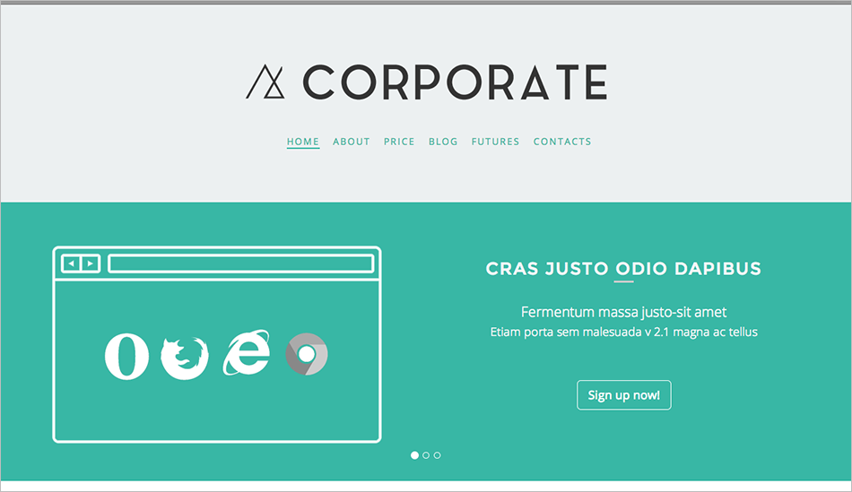 Corporate Drupal Business Theme