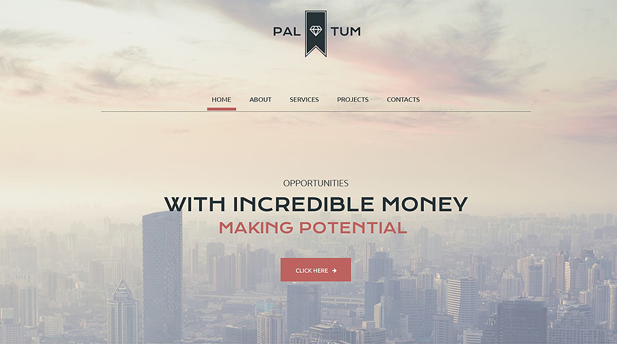 Corporate Style Business Site Website Template Built With HTML5 & CSS3