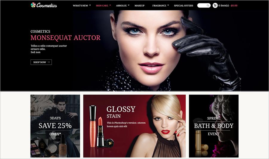 Cosmetics Prestashop Theme