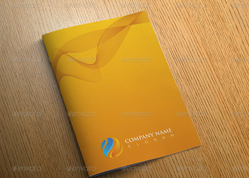 Creative Bi Fold Brochure Template Design