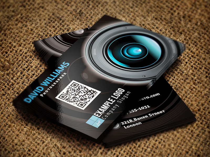 Free Business Card Templates For Photographers