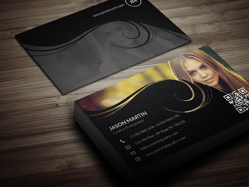 photographer visiting card plastic business card business card ...