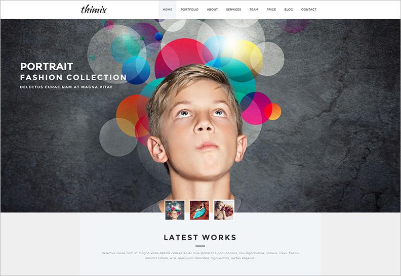 Creative Photography HTML Theme