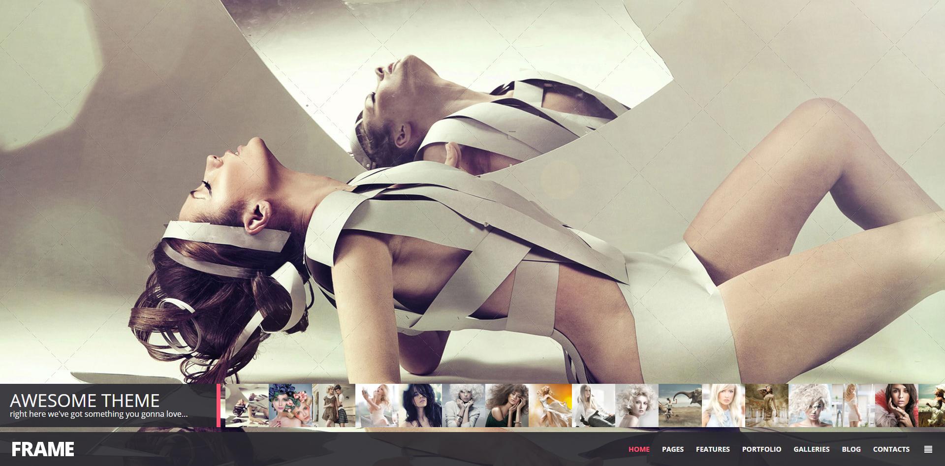 Creative Photography Responsive Website Template