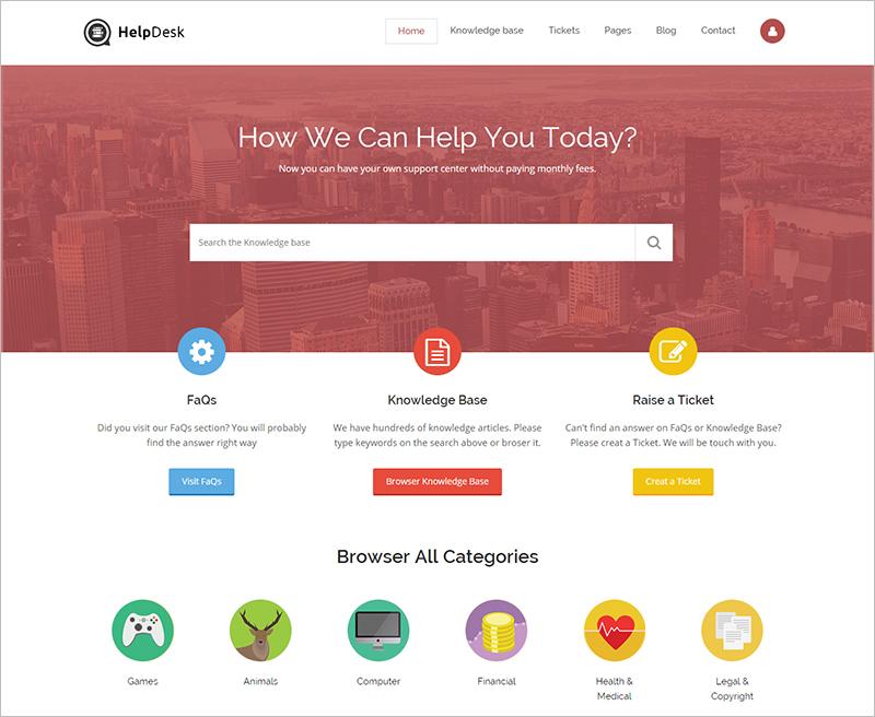 Customer Service Business Drupal Theme
