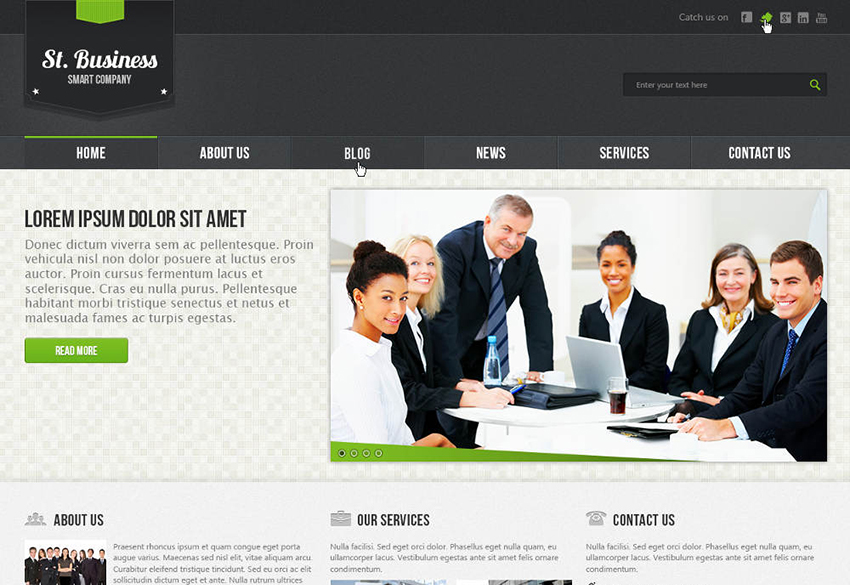 Drupal Business & Corporate Theme