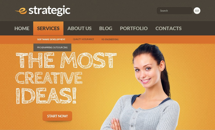 Drupal Corporate Website Template