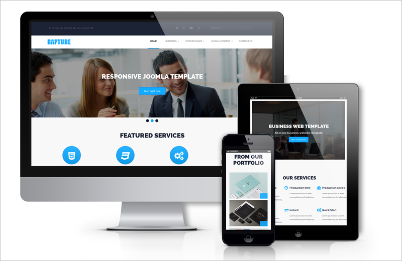 Drupal Corporate Website Template