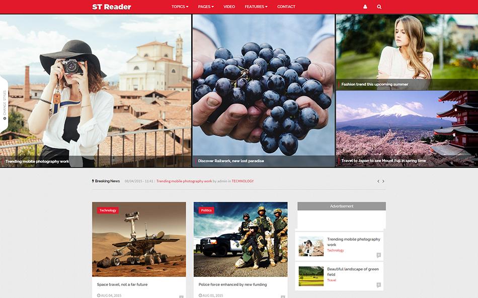 Drupal Dheme For News & Magazine Websites