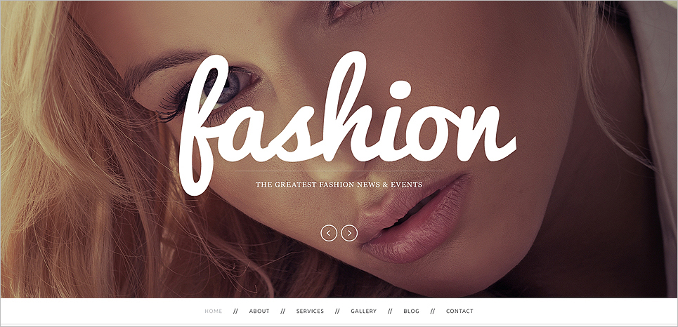 Drupal Fashion Template