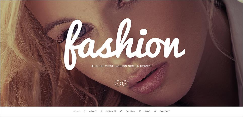 Drupal Fashion Template