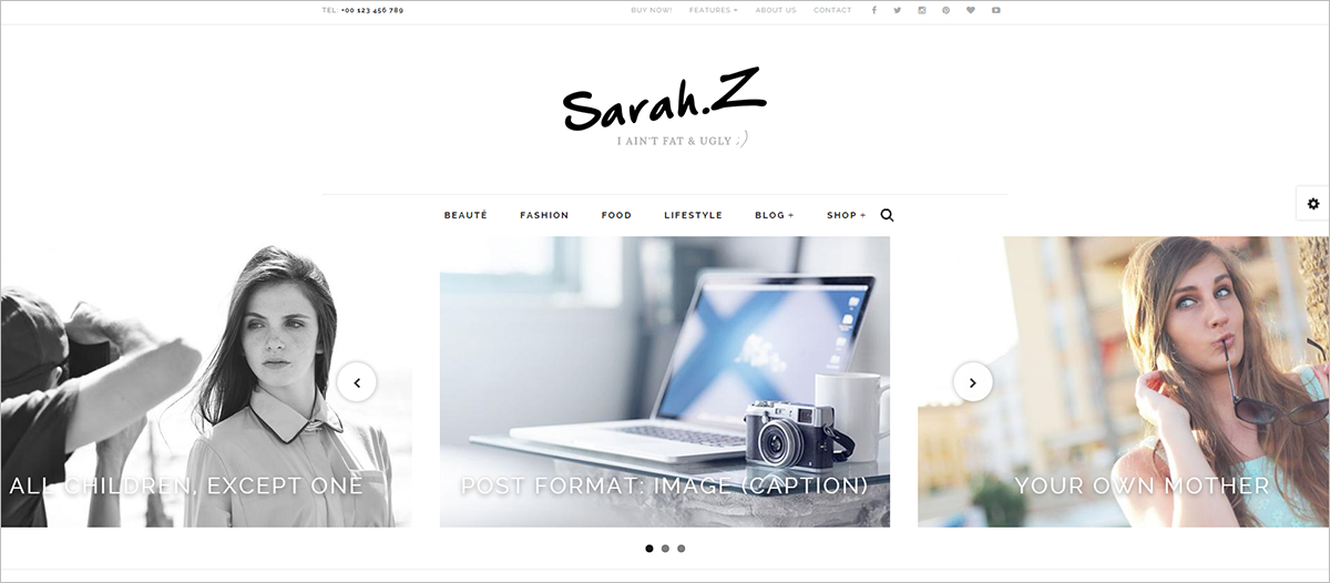 Drupal Template For Fashion With Multi LayOuts
