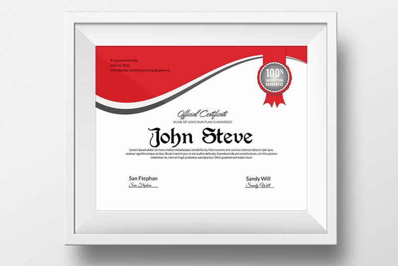 Easy Customizable Certificate Template