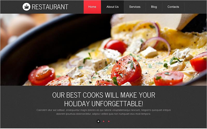 European Restaurant Drupal Template