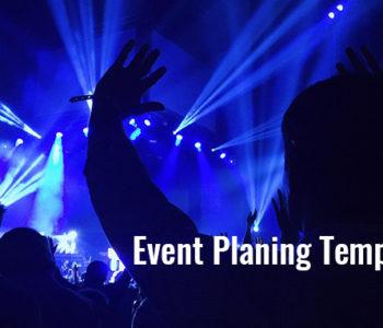 Event Program Template