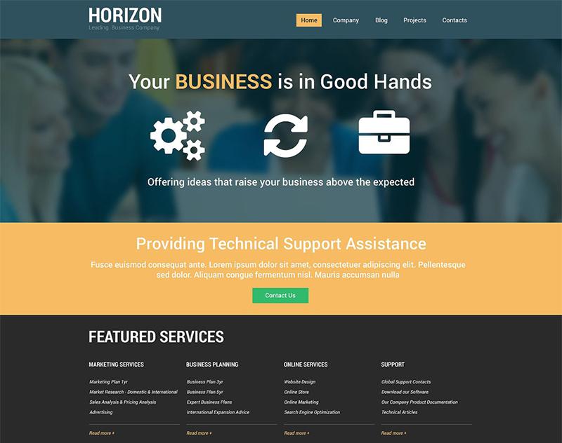Fair Business Agency Drupal Template