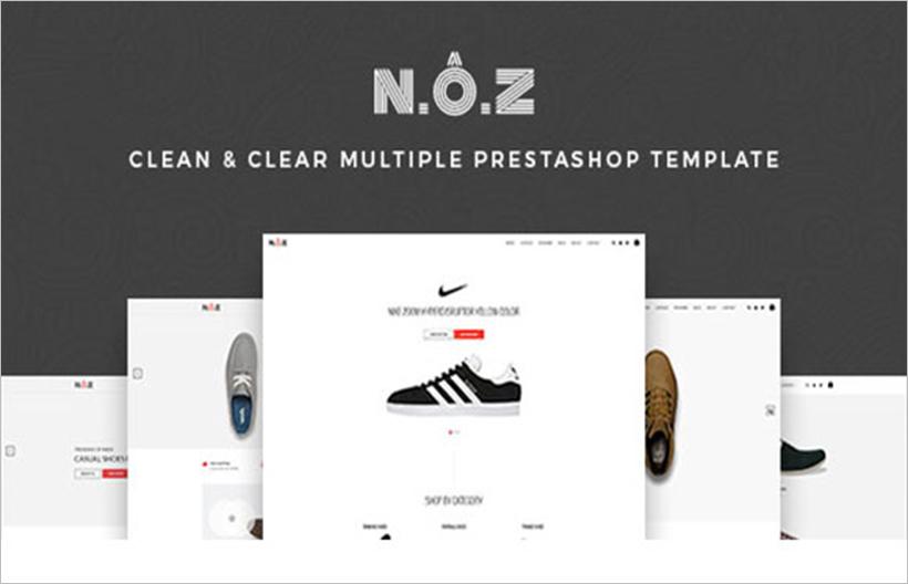 Fancy Shoes Store Prestashop Theme
