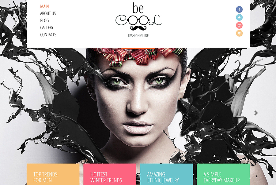 Fashion & Beauty Blogging Joomla Template
