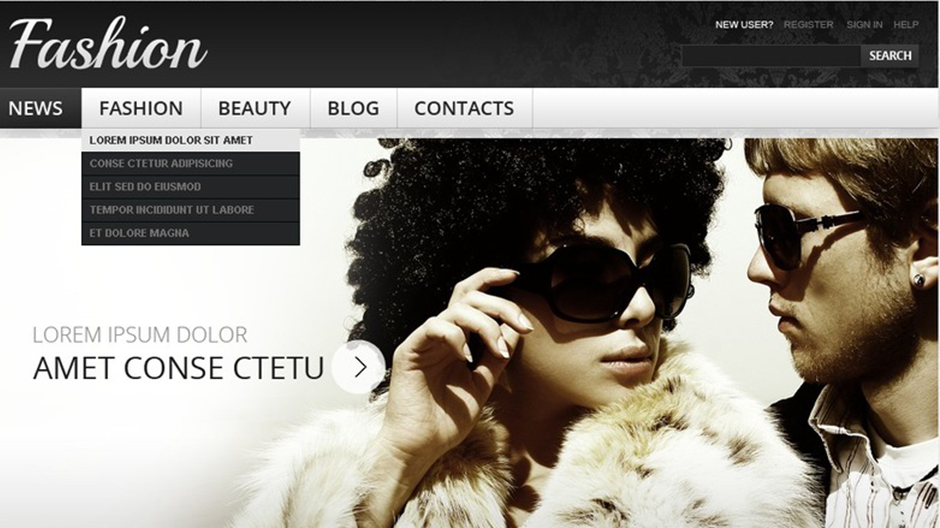 Fashion & Beauty Drupal Theme