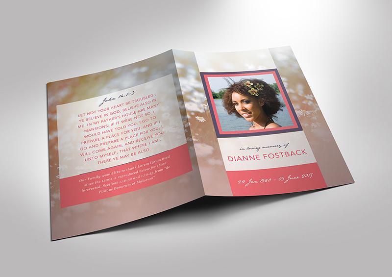 Fashion Bi Fold Brochure Template Design