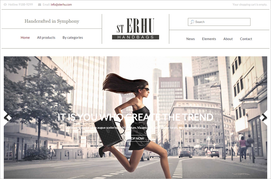 Fashion Drupal Commerce Theme