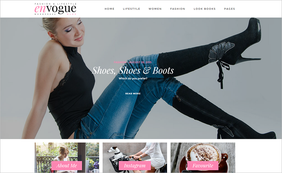 Fashion & Lifestyle WordPress Blog Theme