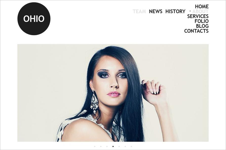 Fashion &Model Agency Drupal Template