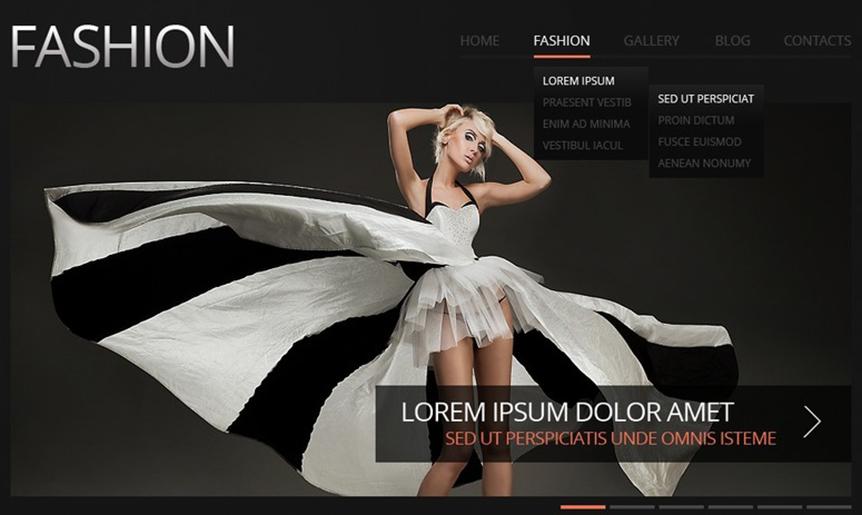 Fashion Responsive Drupal Template