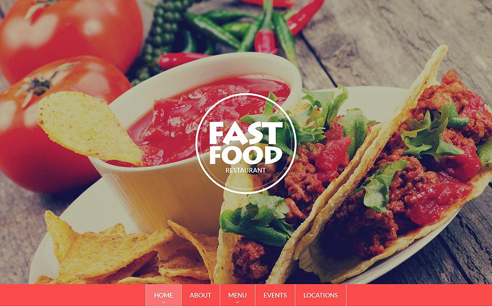 Fast Food Restaurant Drupal Template