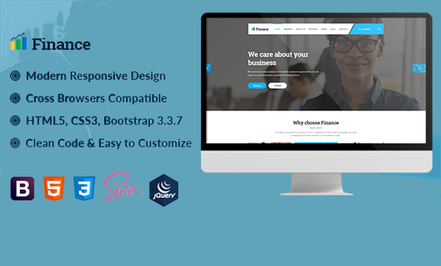 Finance and Business HTML5 Template