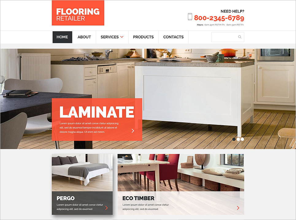 Responsive Bootstrap Template for Design & Photography