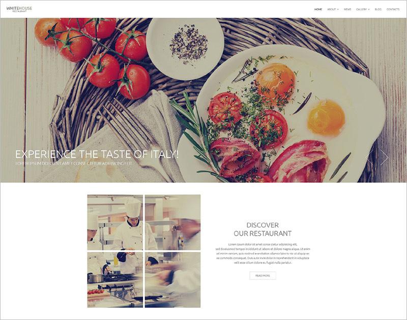 Food & Restaurant Drupla Theme