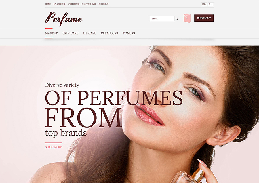 Fragrance Multipurpose OpenCart Template