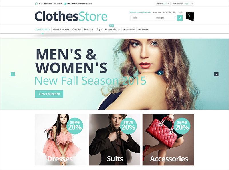 Free Magento Theme Download