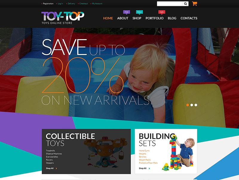 Free Toys Store WooCommerce Theme