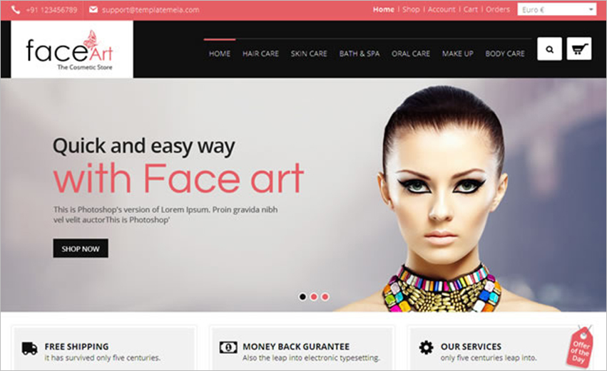 Fully Responsive VirtueMart Theme