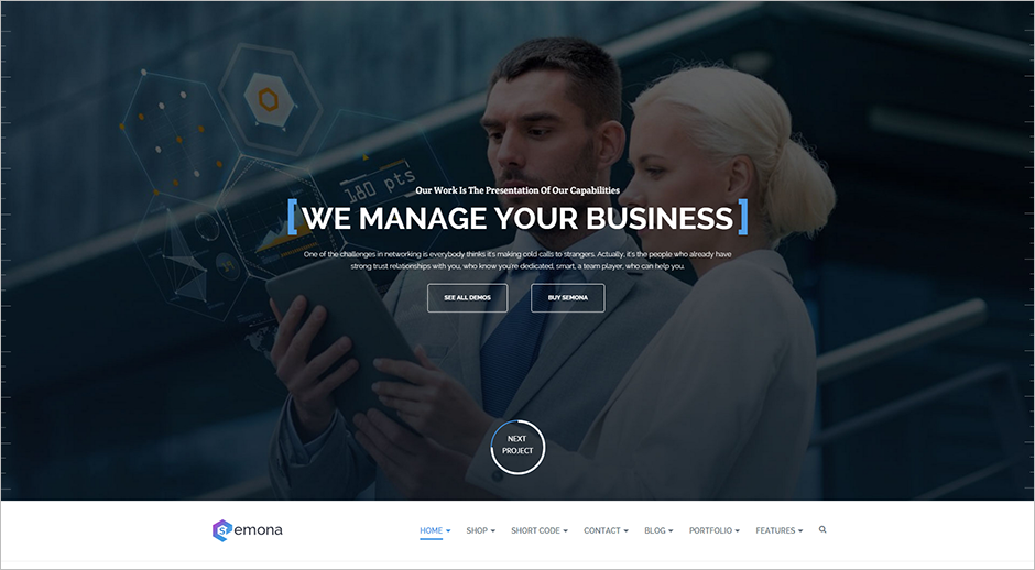 Fully responsive Business Joomla Theme
