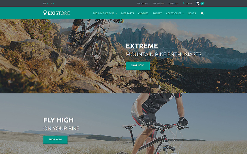 HTML Template With List & Grid Category View