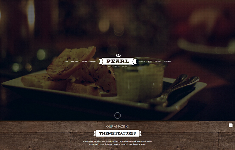 HTML Template for Pub, Cafe, Bar, Restaurant
