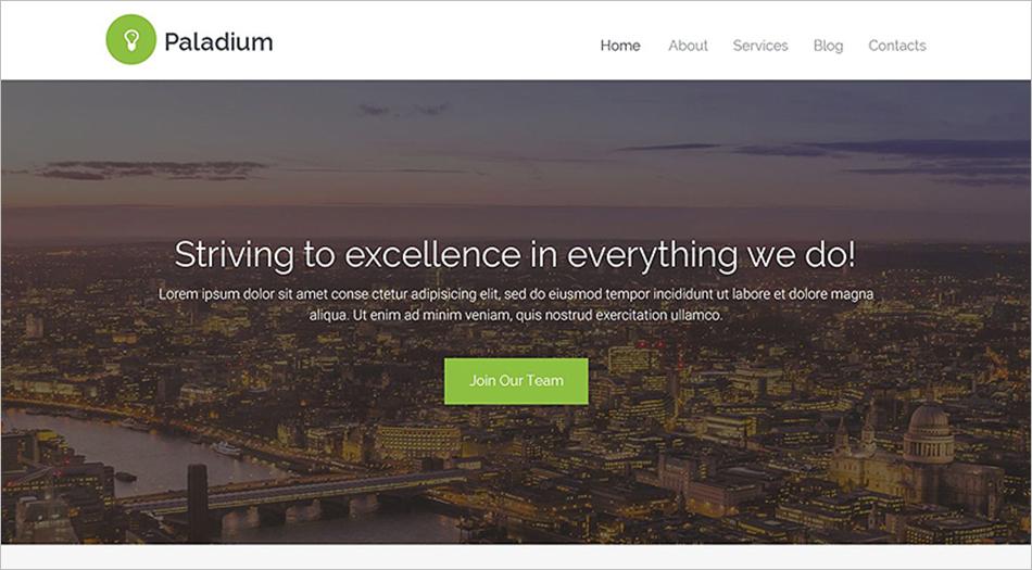 HTML5 Business Website Template