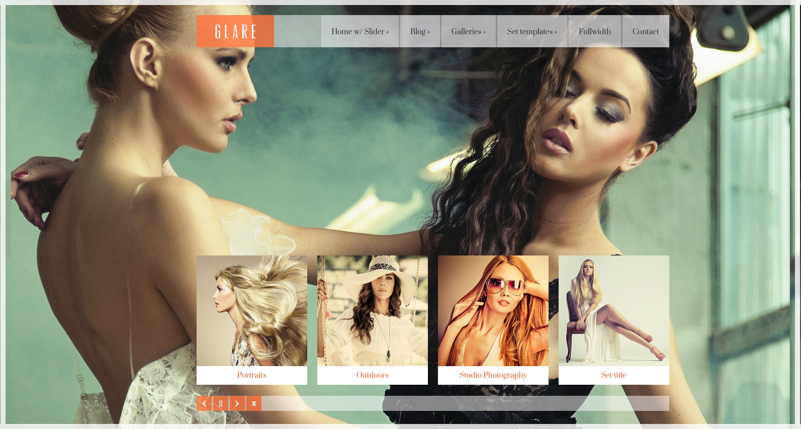 HTML5 Photography Template