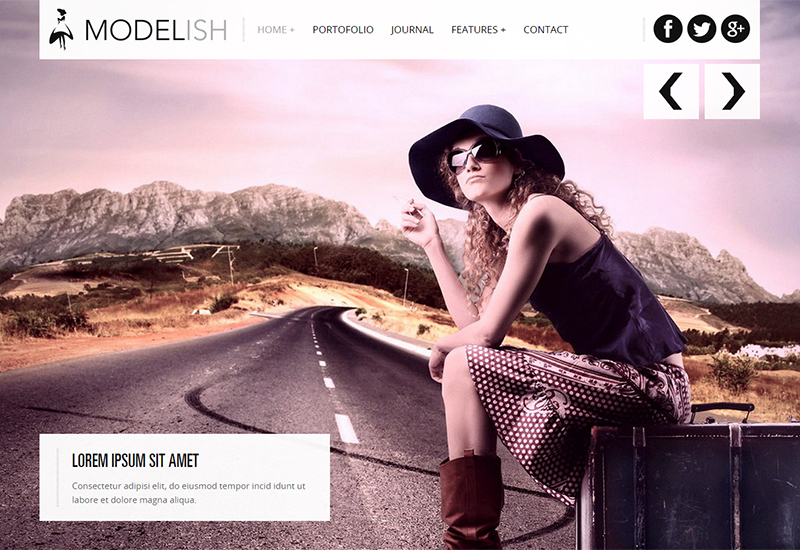 HTML5 Site Template for Art Work & Photography