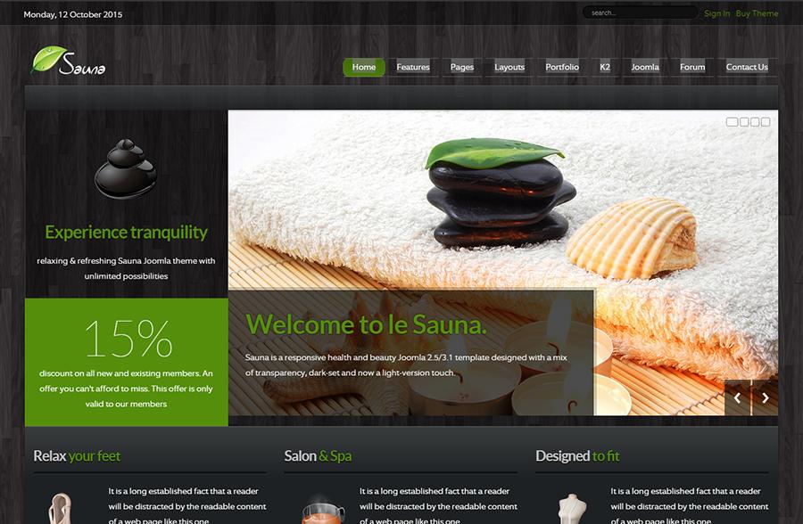 Health & Beauty Joomla Template