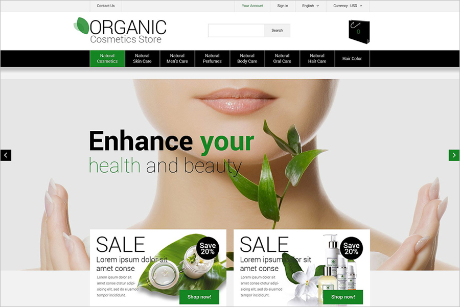 Health & Beauty PrestaShop Theme