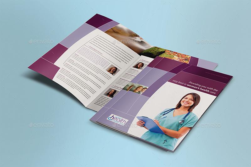 Health Care BI-FOLD Brochure Template