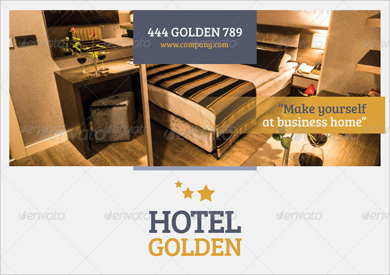 Restaurant Brochure Designs Templates Examples – Sample Hotel Brochure